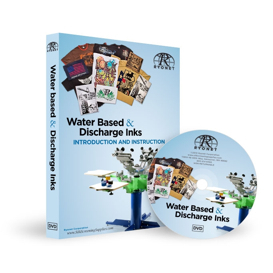 Water Based & Discharge Ink Screen Printing DVD | Movies and Videos | Educational