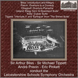 20th Century British Orchestral Music conducted by Bliss/Previn/Tippett/Pinkett - Leicestershire Schools Symphony Orchestra | Music | Classical