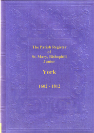 St. Mary, Bishophill Junior, Parish Registers, in the City of York. | eBooks | Reference