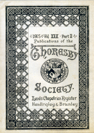Leeds Chapelries Register Headingley & Bramley Thoresby Society Vol. XXIX Part II | eBooks | Reference