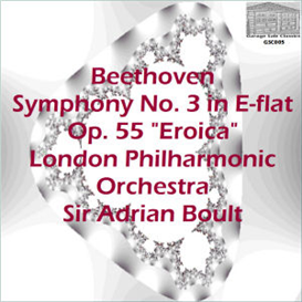 "Beethoven: Symphony No. 3 in E-flat, Op. 55 ""Eroica"" - London Philharmonic Orchestra/Sir Adrian Boult - 