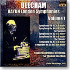 HAYDN London Symphonies Volume 1, Beecham 1957, mono 16-bit FLAC | Music | Classical
