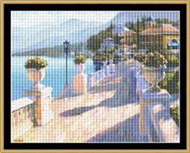 Vista Riviera - Cross Stitch Pattern | Crafting | Cross-Stitch | Other