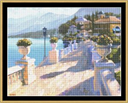 Vista Riviera - Cross Stitch Pattern | Crafting | Cross-Stitch | Other