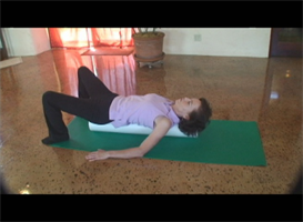 back relief rollercise video