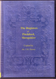 The Parish Registers of Pitchford, Shropshire | eBooks | Reference