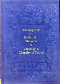 Registers of three Shropshire parishes, Sheinton, Cressage & Sheinton. | eBooks | Reference