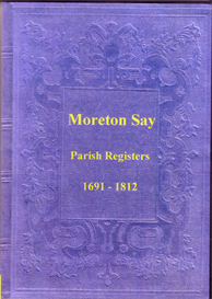 The Parish Registers of Moreton Say in Shropshire. | eBooks | Reference