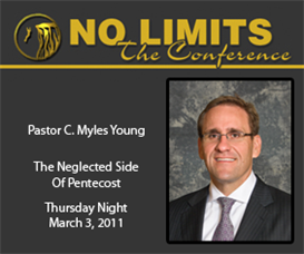 pastor c. myles young - the neglected side of pentecost (audio)