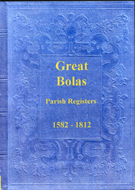 the parish registers of great bolas in shropshire