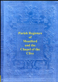 The Parish Registers of Montford and the Chapel of Clive in Shropshire. | eBooks | Reference