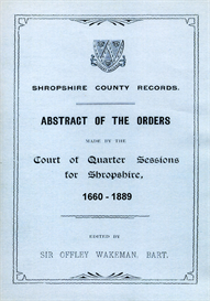 shropshire county records.