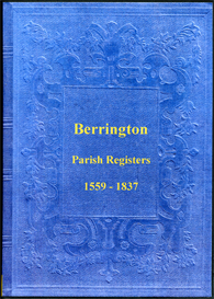 The Parish Registers of Berrington in Shropshire.   eBooks   Reference