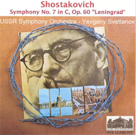 Shostakovich 7th Symphony Leningrad - Yevgeny Svetlanov/USSR SO | Music | Classical