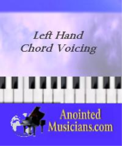 left hand chord voicing | Music | Gospel and Spiritual