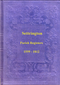 The Parish Registers of Settrington, in the East Riding of Yorkshire. | eBooks | Reference