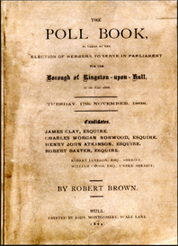 The Poll Book as taken at the Election of Members to Serve in Parliament for the Borough of Kingston-upon-Hull In the year 1868. | eBooks | Reference