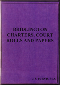 Bridlington Charters, Court Rolls and Papers. | eBooks | Reference