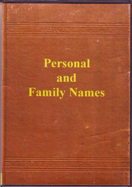 Personal And Family Names | eBooks | Reference
