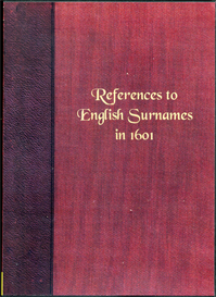 References to English Surnames in 1601. | eBooks | Reference