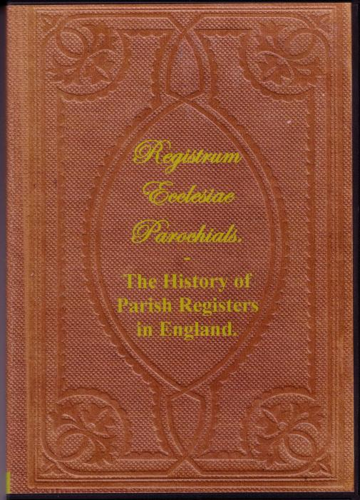 First Additional product image for - The History of Parish Registers in England