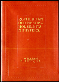 Rotherham Old Meeting House, & It's Ministers with supplementary chapters. | eBooks | Reference