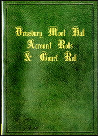 Dewsbury Moot Hall, Account Rolls, and Court Roll | eBooks | Reference