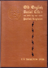 Old English Social Life as told by the Parish Registers. | eBooks | Reference