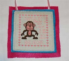 monkey baby sampler