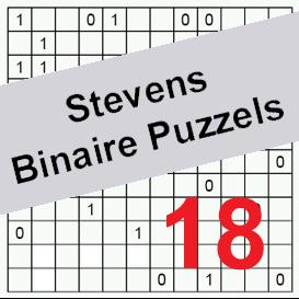 binaire puzzels 18