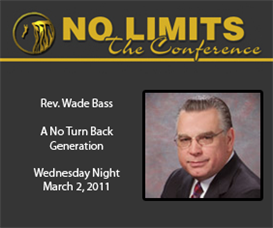 rev. wade bass - a no turn back generation (audio)