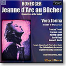 HONEGGER Jeanne d'Arc au Bucher, Zorina, Ormandy, 1952, 16-bit mono FLAC | Music | Classical