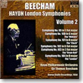 HAYDN London Symphonies Volume 2, Beecham 1958, Stereo MP3 | Music | Classical