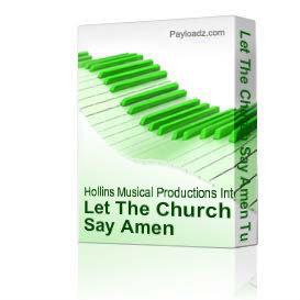 Let The Church Say Amen Tutorial - Marvin Winans - Video Tutorial   Music   Gospel and Spiritual