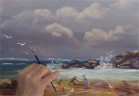 Stormy Beach | Movies and Videos | Arts