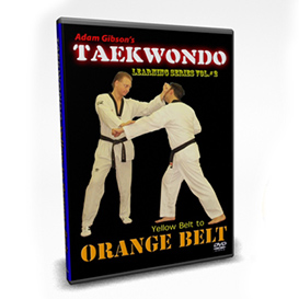 Taekwondo-Orange Belt Requirements-by Adam Gibson | Movies and Videos | Fitness