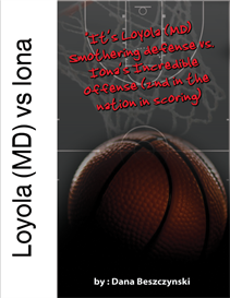 Loyola MD-Iona Scouting Report | eBooks | Sports