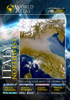 the world atlas italy northwest