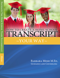 How To Create A Home School Transcript  Your  Way       Sample Pages | eBooks | Education