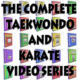The COMPLETE TAEKWONDO and KARATE VIDEO SERIES (22 Video Titles) -Download Version | Movies and Videos | Fitness