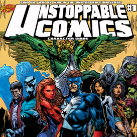 unstoppable comics character guide #1