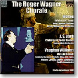 THE ROGER WAGNER CHORALE sings Walton, Bach and Vaughan Williams, 1960, Stereo MP3 | Music | Classical