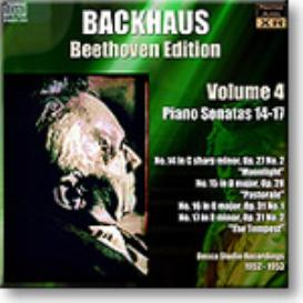 BACKHAUS Beethoven Edition Volume 4 - Sonatas 14-17, Ambient Stereo MP3 | Music | Classical