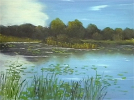 Waterlilies Painting Lesson | Movies and Videos | Arts