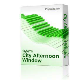 City Afternoon Window | Music | Jazz