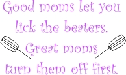 Beater-Mom machine embroidery file | Crafting | Sewing | Apparel