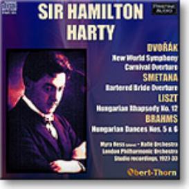 HARTY conducts DVORAK, BRAHMS, LISZT, SMETANA, mono MP3 | Music | Classical
