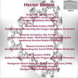 Berlioz: Overtures; Reverie & Caprice; Hungarian March - Ancerl/Fekete/Maraczek/Reinhardt | Music | Classical