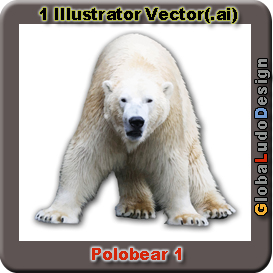 Polar Bear Vector | Other Files | Clip Art