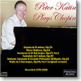 PETER KATIN Plays Chopin, stereo MP3 | Music | Classical